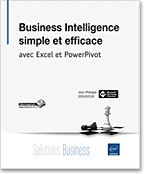 Livre JP Gouigoux - Business Intelligence simple et efficace avec Excel et PowerPivot - Editions ENI